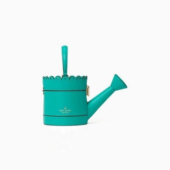 Kate Spade Spring Forward Watering Can Handbag